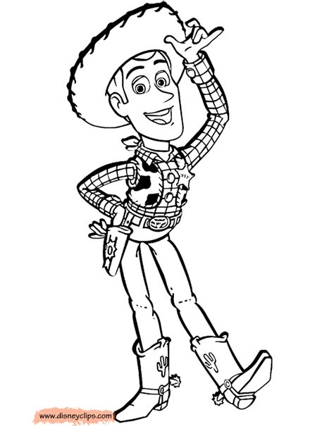 woody template woody and bullseye pages coloring pages