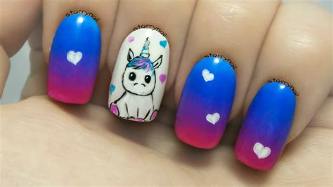 Freehand Nail by Unicorn Freehand Nail Tutorial