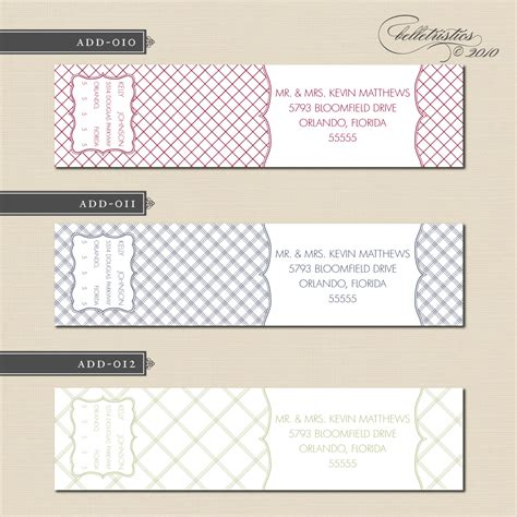 printable address labels wedding belletristics stationery design and inspiration for the