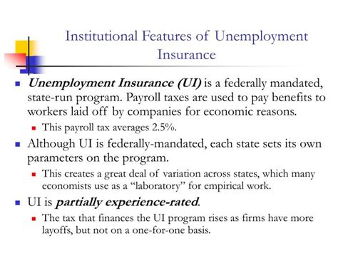 a to z list of state unemployment insurance offices and ppt chapter 14 unemployment insurance disability