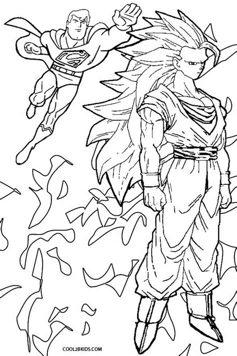 ssj goku coloring pages