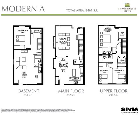 modern townhouse floor plans 2 story townhouse floor plan for sale 17 best images about
