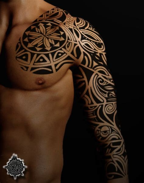 nice sleeve tattoos for men 21 awesome tribal sleeve tattoos designs images and pictures