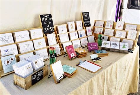 how to display cards great greeting card display for craft fairs julie