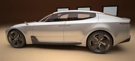 4 Door Car by Photos Kia 4 Door Sports Sedan Concept Photo 4