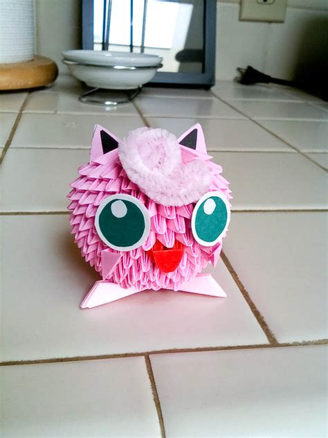 Jigglypuff Origami - jigglypuff origami 28 images 46 best images about on