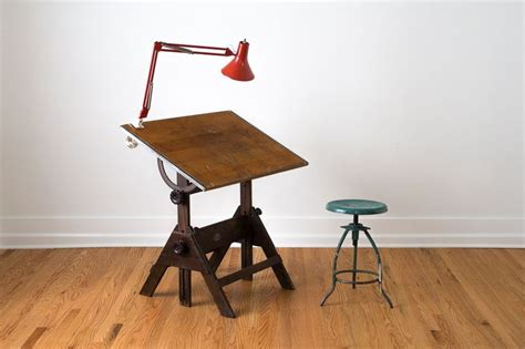 Wood Drafting Table Vintage And Hardware On Pinterest Vintage Drafting Table Hardware