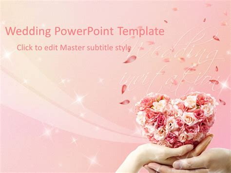Wedding Powerpoint Template Ppt Video Online Download Wedding Powerpoint Template