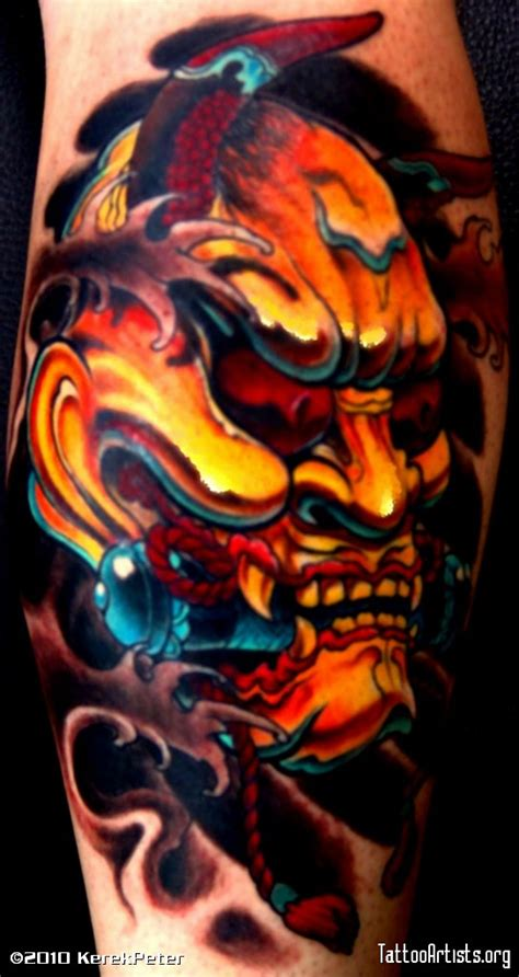 japanese hannya mask tattoo art japanese hannya mask tattoo drawing real photo pictures