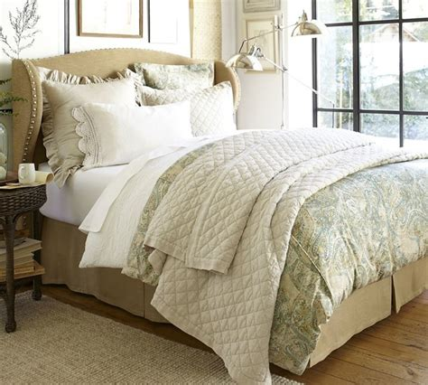 pottery barn coverlet rustic luxe bedding traditional bedding sacramento