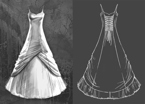 shangri la ideas on wedding dress patterns