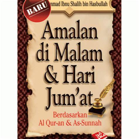 Amalan Harian Seorang Muslim Pustaka Ibnu Umar Rumah Dara buku poket amalan di malam hari jumaat
