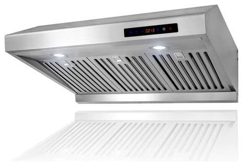 kitchen exhaust fan under cabinet akdy ak z1802sf 30 quot under cabinet range hood stainless