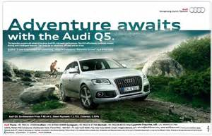 audi q5 car advertisement advert gallery