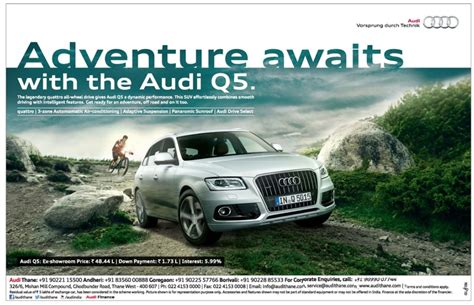 car service ad audi q5 car advertisement advert gallery