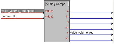 flash tutorial volume control crestron tutorials color changing crestron volume control