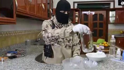horrific isis instruction video showing    device