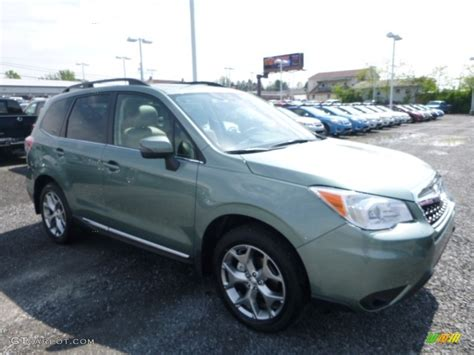 green subaru forester 2016 green metallic subaru forester 2 5i touring