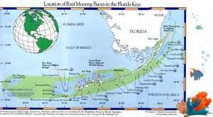 florida reefs and wrecks map florida reef mooring buoy program in key west