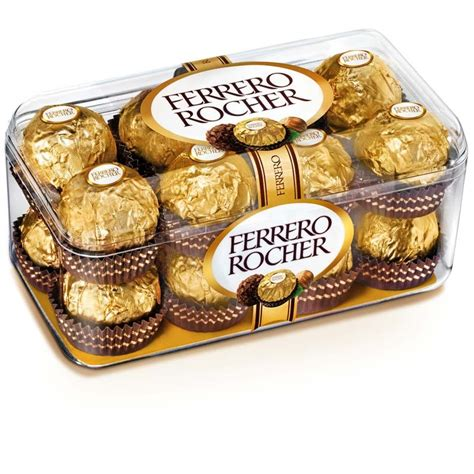 F Rocher 2 In 1 Cardi ferrero rocher chocolates pack of 16 chocolate combos