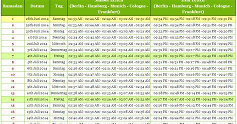 wann ist ramadan 2014 in deutschland ramadan 2014 deutschland ramadan kalender 2014 und zeiten