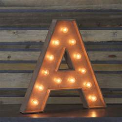 edison marquee letter quot a quot town country event rentals