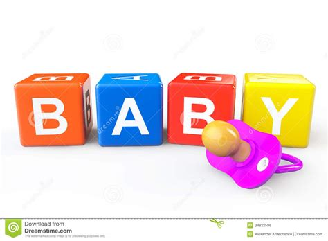 baby shower babies for cubes baby cubes with pacifier royalty free stock image image