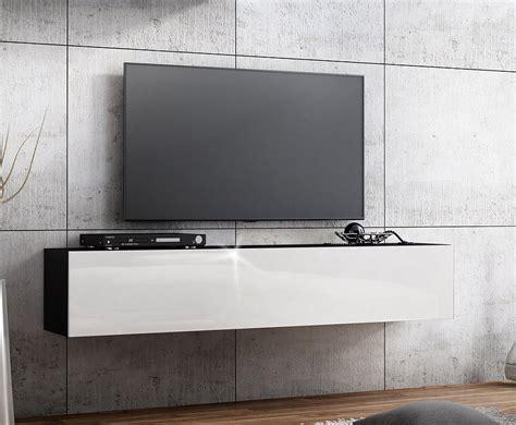 tv lowboard h 228 ngeboard hochglanz board schrank tisch wei 223 - Schrank Höhe 160