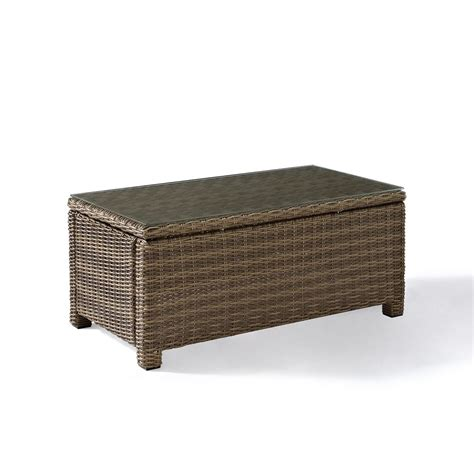 Wicker Coffee Tables Crosley Bradenton Wicker Coffee Table Wicker Coffee Tables Wicker Seating Wicker
