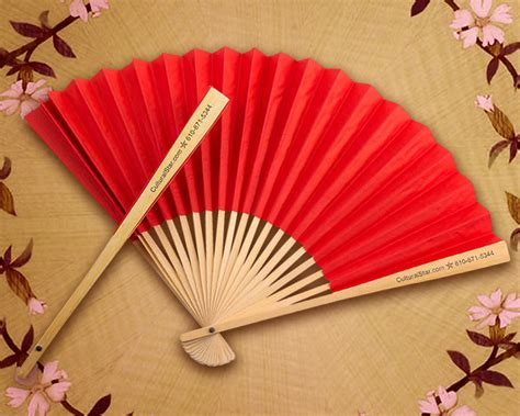 printable paper fans personalized paper fans side print
