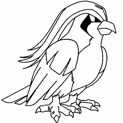 coloring pages of pokemon online pokemon coloring coloring pokemon pidgey picture