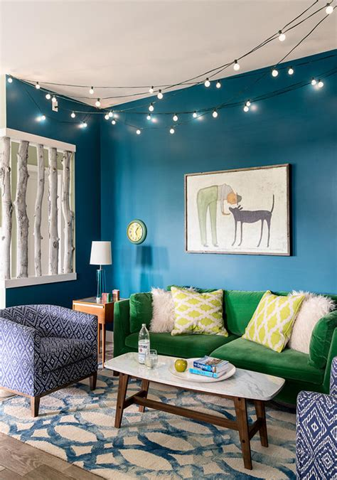 green and turquoise living room cool home in turquoise with green accents interiors by color