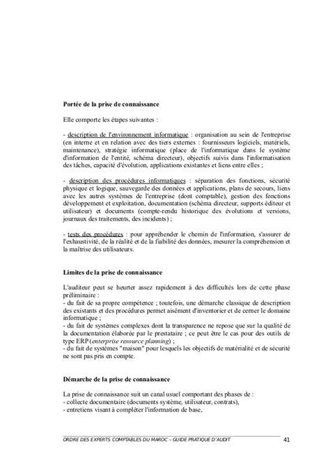 Guide Pratique De L Audit Oec Maroc