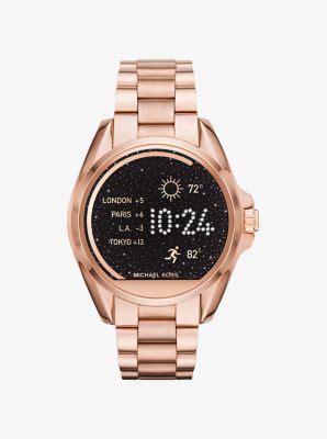 Smartwatch Mk bradshaw gold tone smartwatch michael kors