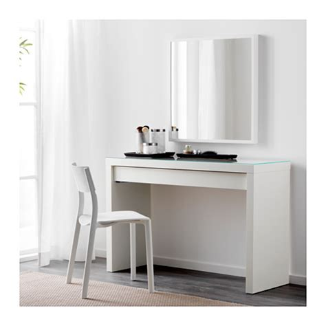 Ikea Vanity Table Malm Dressing Table White 120x41 Cm Ikea
