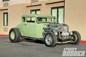 shaker 1929 ford model a coupe rod network