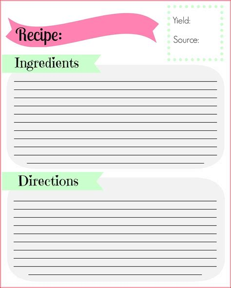 template for typing recipe cards 89 recipe cards template for word free recipe template