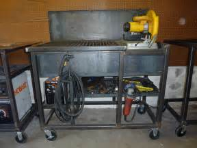chop saw bench metal chop saw stand plans plans diy free outdoor
