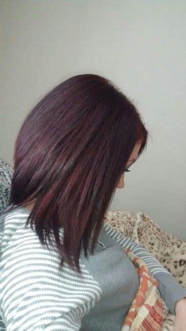 5rv hair color wella color charm 5rv 507 burgundy hair color