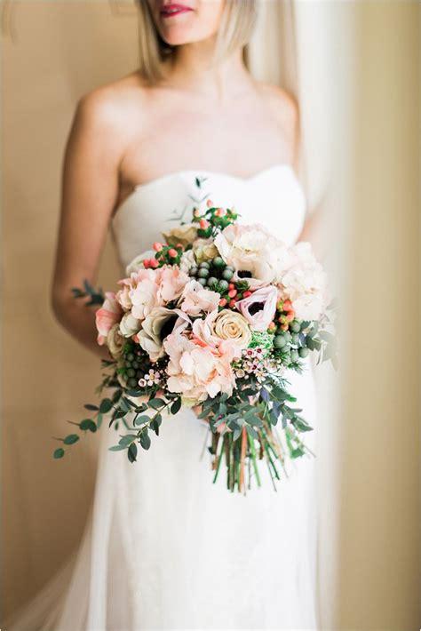 Wedding Bouquet Foliage by Pretty South Of Wedding Inspiration