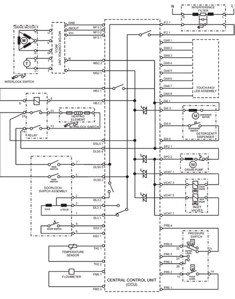 whirlpool washer wiring diagram efcaviation