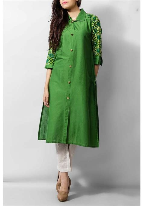 jacket pattern kurta for ladies green cotton ladies kurti 39 99 kurti pakistani indian