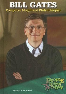 bill gates biography book review bill gates computer mogul and philanthropist by michael a