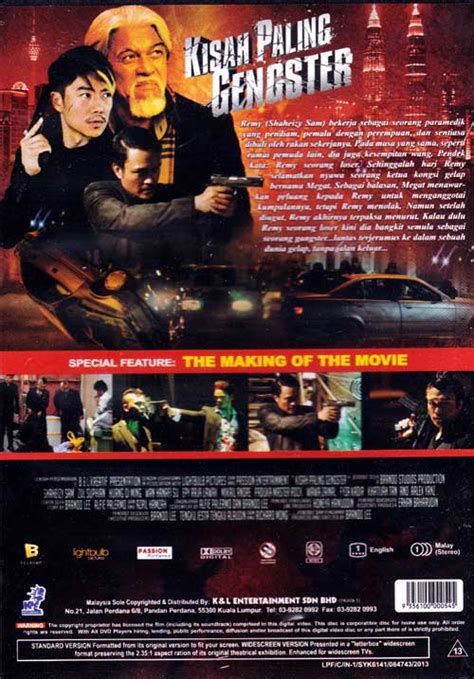 film gangster paling keren kisah paling gangster dvd malay movie 2013 cast by