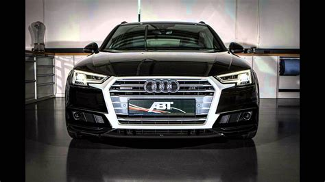 Audi A4 Abt Tuning by Dia Show Tuning Abt Sportsline Audi A4 B9 As4 Avant Youtube