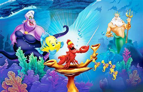 Mermaid Wall Murals disney princess ariel mermaid wallpaper