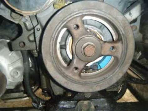 how to remove balancer on a 2012 ferrari 458 italia remove and replace the front crankshaft seal impala 3 4l youtube
