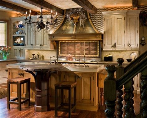 elegant kitchen decor rustic french country kitchen