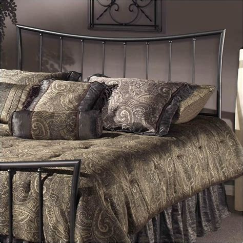 pewter headboard hawthorne collections twin metal spindle headboard in