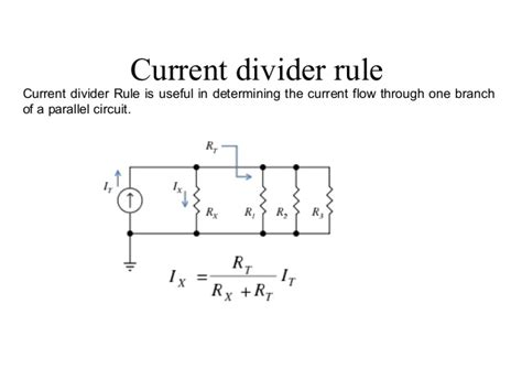 parallel resistor current division inductor current divider images